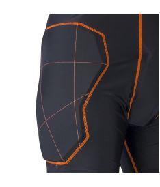 EXEL S100 PROTECTION SHORT black/orange S - Pads and vests