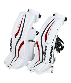 "Goalie pads VAUGHN GP VENTUS LT68 white/black/red junior - 28+2"" - Pads"