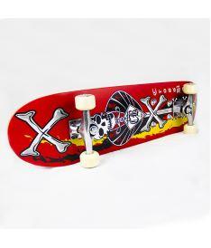 ROLLER DERBY SKATEBOARD Crossbones - Skateboards