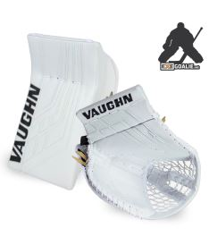 SET VAUGHN BLOCKER + CATCHER VELOCITY VE8 PRO white - REG