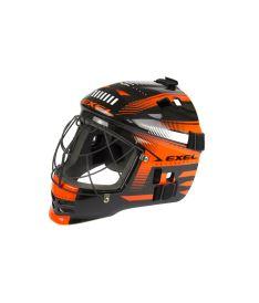 EXEL S60 HELMET junior black/orange - Masken