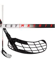 SALMING Matrix 29 White/Black 96(107 R) - Floorball stick for adults