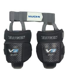 VAUGHN VELOCITY V9 KNEE & THIGH PROTECTOR WITH GARTER BELT black int