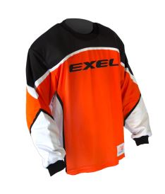 EXEL S100 GOALIE JERSEY orange/black S - Jersey