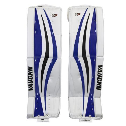 Goalie pads VAUGHN GP VELOCITY V7 XR white/black/blue int - 32+2