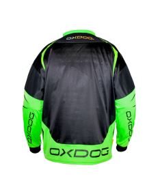OXDOG GATE GOALIE SHIRT black/green 150/160 - Pullover