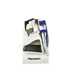 Goalie Stockhand VAUGHN BLOCKER VELOCITY V7 XF PRO white/black/blue senior - FR - Stockhände