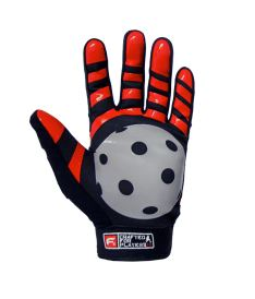 FREEZ G-180 GOALIE GLOVES red junior, L - Handschuhe