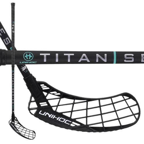 UNIHOC STICK EPIC TITAN Miracle Light 26 black 104cm