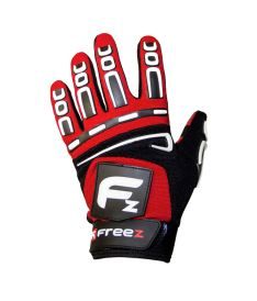 FREEZ G-180 GOALIE GLOVES red senior, L - Brankařské rukavice