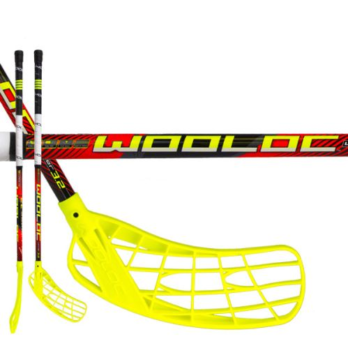 WOOLOC WINNER 3.2 red 75 ROUND NB L '16 - Floorball sticks for children
