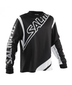 SALMING Phoenix Goalie Jsy SR Black/White