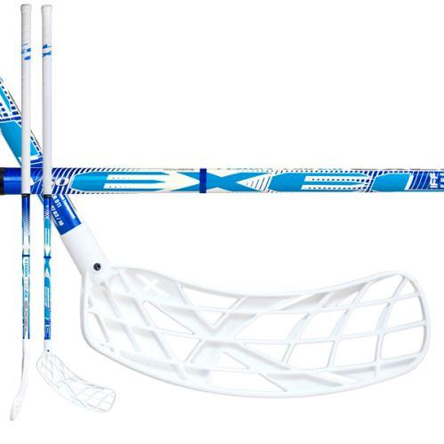 EXEL V50 2.6 SMU white 103 ROUND SB L - Floorball-Schläger für Erwachsene