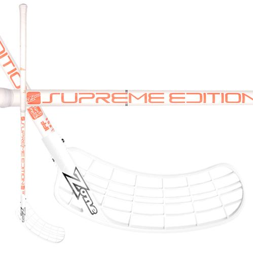 ZONE STICK SUPREME Composite 29 white/coral 92cm R-17 - Floorball-Schläger für Kinder