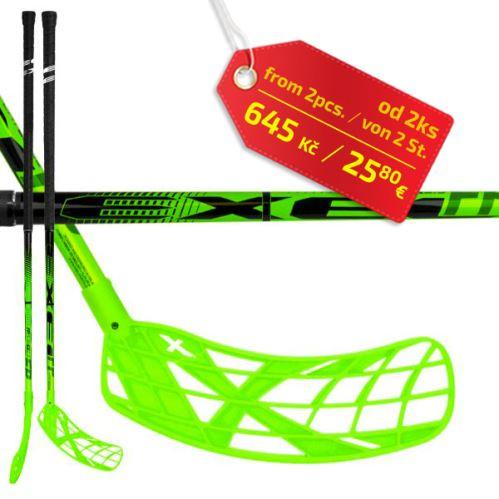 EXEL FPplayER 2.9 green 98 ROUND SB L ´16  - Floorball-Schläger für Erwachsene
