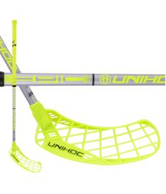 UNIHOC STICK EPIC Composite 32 neon yellow/silver 92cm