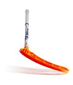 SALMING Matrix 32 White/Orange 96/107 - Floorball-Schläger für Erwachsene