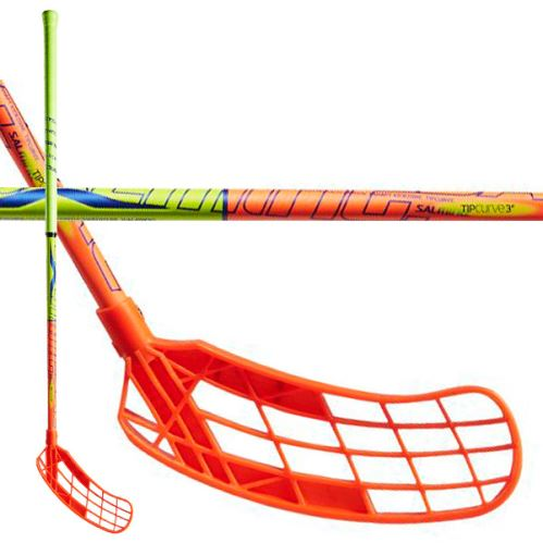 SALMING Quest1 X-shaft KZ TC 3° Jr 92/103 - Floorball-Schläger für Kinder
