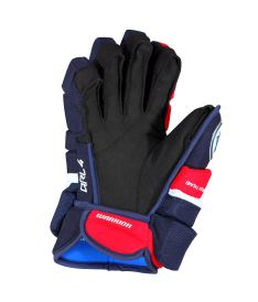 "Hokejové rukavice WARRIOR COVERT QRL4 navy/red/white senior - 14"" - Rukavice"