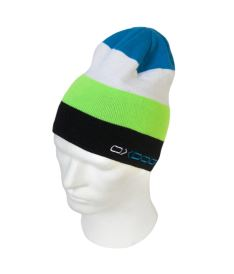 OXDOG JOY-2 WINTER HAT lime/blue - Caps und Mützen