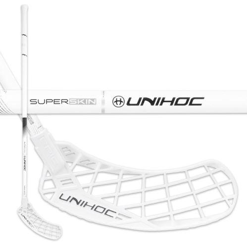 UNIHOC STICK EPIC SUPERSKIN MAX FL 26 white/bla 96cm L - florbalová hůl