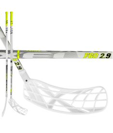 EXEL F60 WHITE 2.9 98 ROUND MB L - Floorball stick for adults