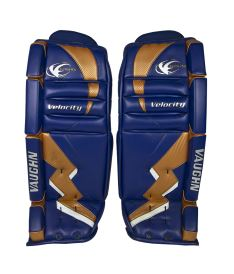 Goalie pads VAUGHN GP VELOCITY 7070 navy/gold/white junior - 31""