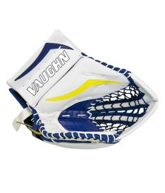Goalie Fanghand VAUGHN CATCHER VELOCITY V7 XF CARBON PRO  white/navy/yellow senior - REG Bartosak P