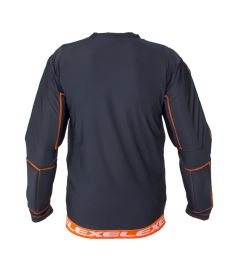 EXEL S100 PROTECTION SHIRT black/orange XL - Pads and vests