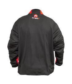 FREEZ Z-80 GOALIE SHIRT BLACK/RED junior