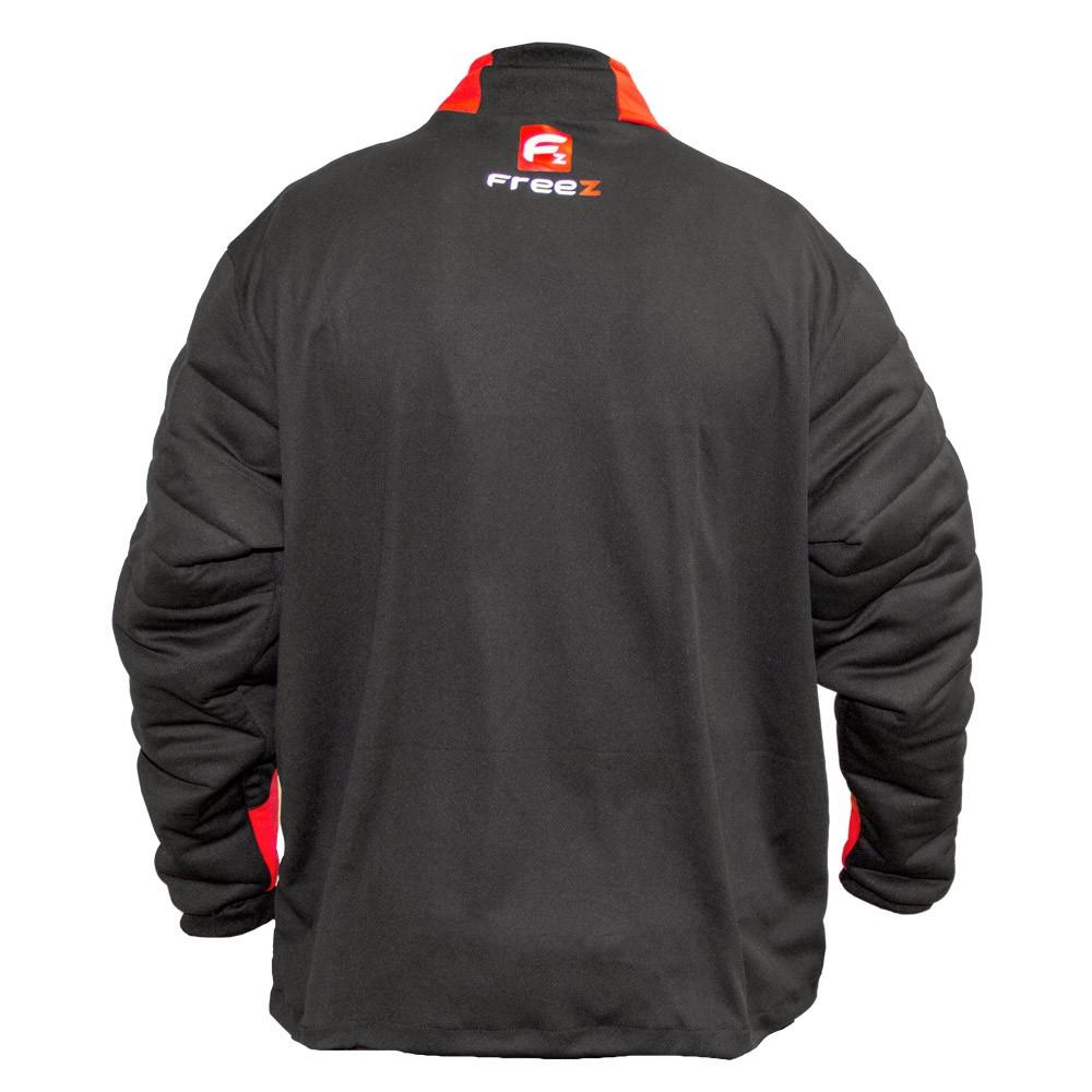 c2e80cd2d FREEZ Z-80 GOALIE SHIRT BLACK RED senior