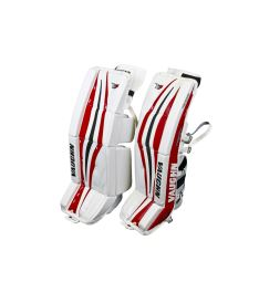 "Goalie pads VAUGHN GP VELOCITY V7 XR white/black/red int - 32+2"" - Pads"