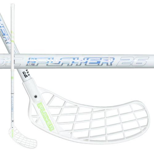 UNIHOC STICK REPLAYER BAMBOO 26 white/silver 100cm L-17 - Floorball-Schläger für Erwachsene