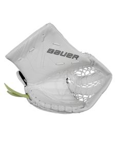 Goalie catch glove BAUER CATCHER SUPREME ONE70 white junior - FR