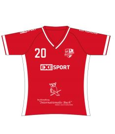 FREEZ JERSEY SUBLI LADIES - SC POTSDAM 19 - red