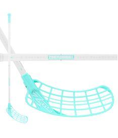ZONE STICK ZUPER AIR SL 29 white/turquoise 100cm