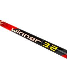 WOOLOC WINNER 3.2 red 96 ROUND NB R '16 - Floorball-Schläger für Erwachsene