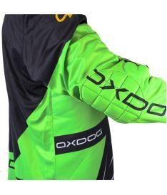 OXDOG VAPOR GOALIE SHIRT black/green L - Jersey