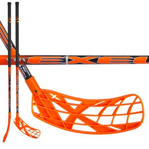EXEL V30x 2.9 orange 92 ROUND SB - Floorball-Schläger für Erwachsene