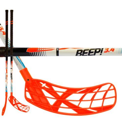 EXEL BEEP! 3.4 white 87 ROUND SB R - Floorball sticks for children