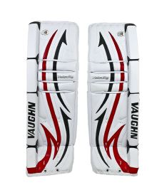 Goalie pads VAUGHN GP VELOCITY V4 7600 white/black/red senior - 36+2""