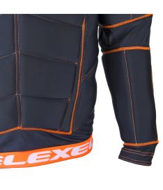 EXEL S100 PROTECTION SHIRT black/orange M - Pads and vests