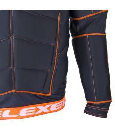 EXEL S100 PROTECTION SHIRT black/orange L - Pads and vests