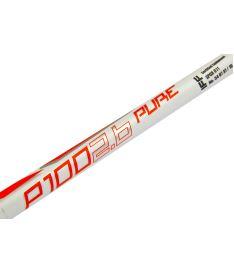 EXEL P100 2.6 white 101 OVAL MB R '16 - Floorball-Schläger für Erwachsene