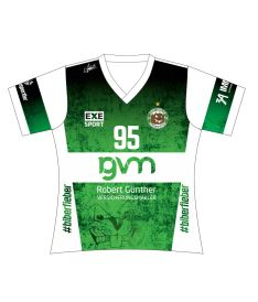 FREEZ JERSEY SUBLI LADIES - USV HALLE - green/white