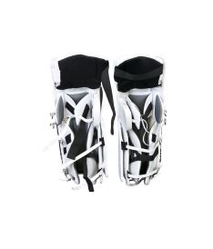 "Goalie pads VAUGHN GP VELOCITY V7 XR white/black int - 30+2"" - Schienen"