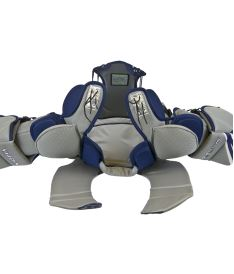 CHEST & ARMS PROTECTOR VAUGHN VENTUS SLR PRO blue/silver/white senior - XL - Arm + chest