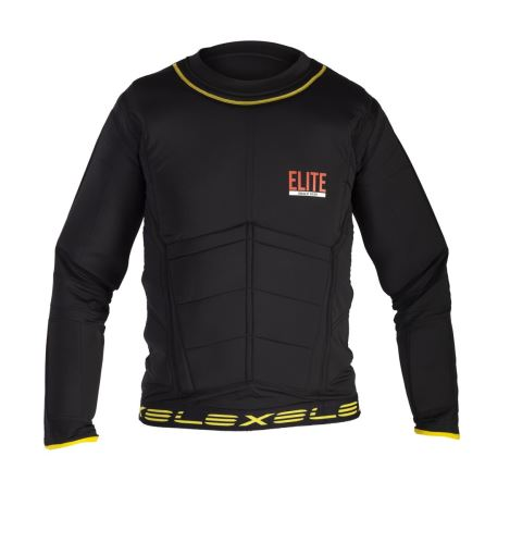 EXEL ELITE PROTECTION SHIRT Black S - Pads and vests