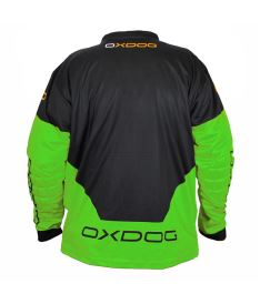 OXDOG VAPOR GOALIE SHIRT black/green 150/160 - Jersey