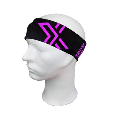 OXDOG BRIGHT HEADBAND Black/Pink
